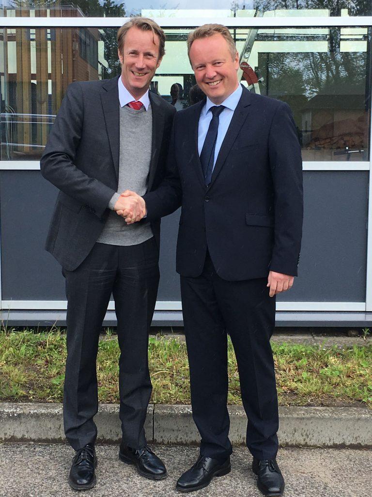 Dipl.-Ing. Ulf Michel (links), Dr.-Ing. Claus-Christian Ehrhardt (rechts). Foto: BIV HH SH
